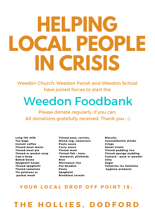 Help local people in crisis